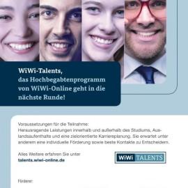 WiWi-Talents Begabtenprogramm