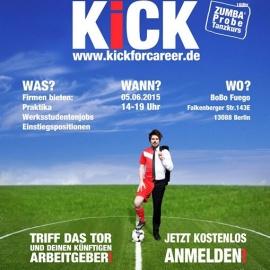 Karriere Kick – die Berliner Jobmesse für Studierende